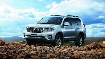 Toyota Land Cruiser Prado actualiza su equipamiento de seguridad y multimedia