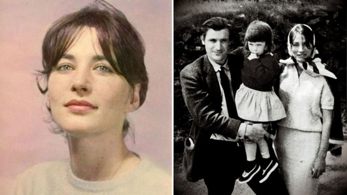 Assia Wevill y Ted Hughes