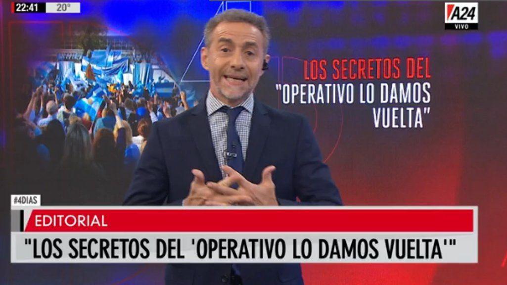 El editorial de Luis Majul: los detalles del operativo lo damos vuelta