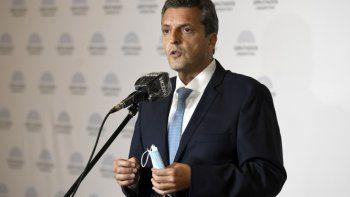 Sergio Massa: No hay empleo sin empleadores, ni trabajo sin capital