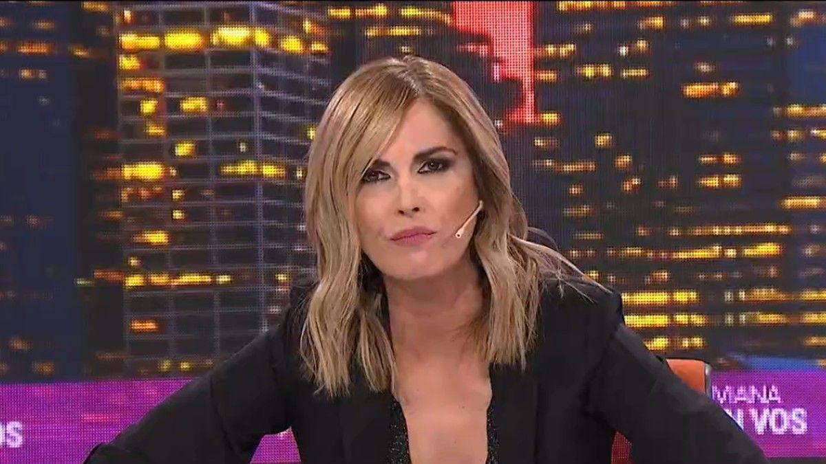 Viviana Canosa volvió a la televisión.