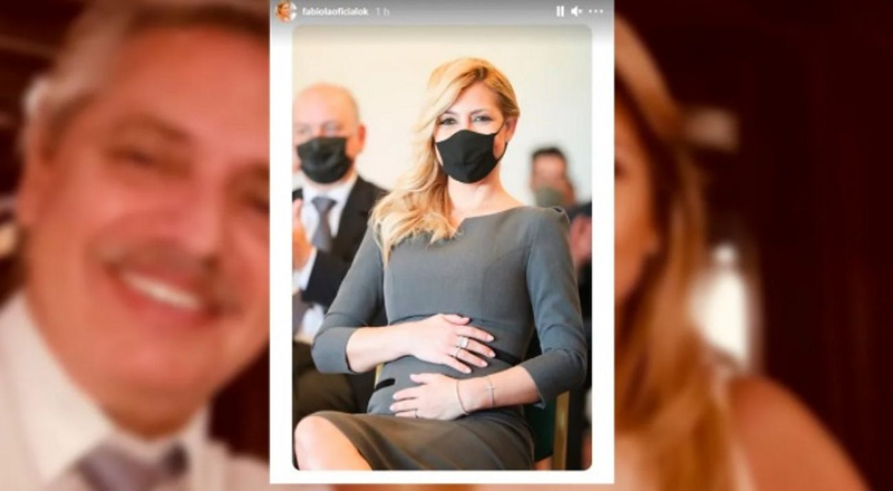 Alberto y Fabiola: la primera foto oficial desde que se conoció el embarazo
