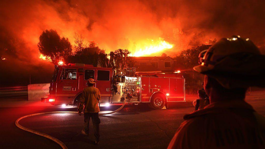 Incendios descontrolados en California: quiénes son los famosos que perdieron su casa por el fuego