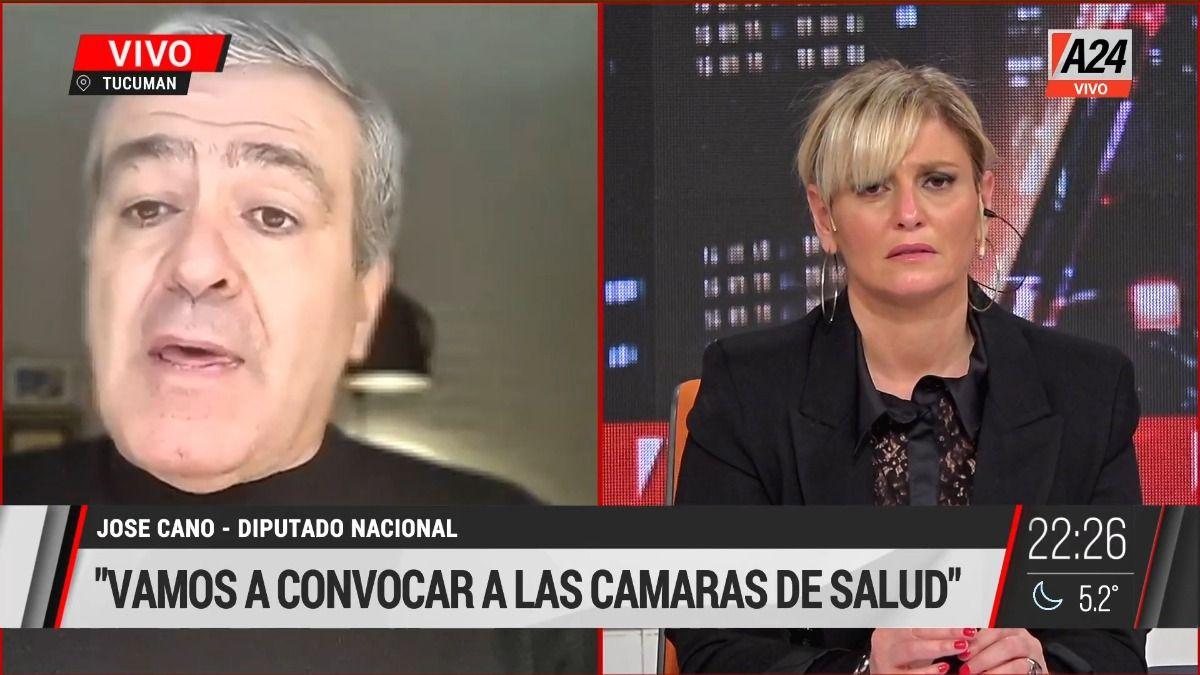 El diputado nacional de Juntos por el Cambio José Cano.