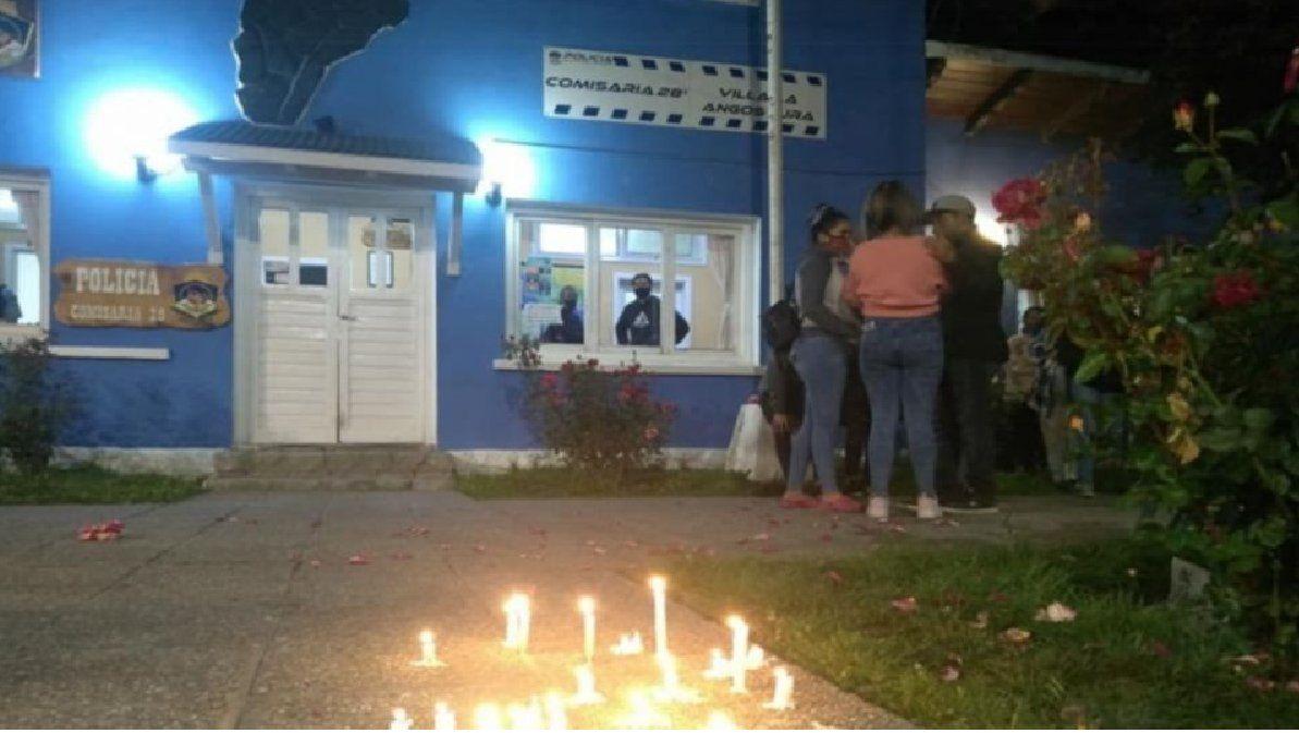 La Comisaría 28 donde Guadalupe denunció a quien sería su femicida. No tomaron las medidas para protegerla. La están remodelando para hacer una Comisaría de la Mujer. (Foto: El Cordillerano)