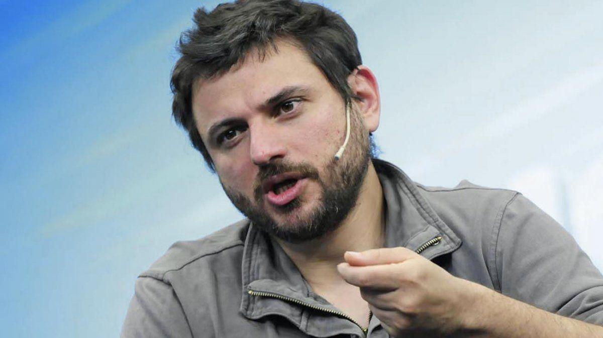 El dirigente Juan Grabois apuntó contra Alberto Fernández y volvió a reclamar cambios en el Gabinete (Foto: portal de internet www.rionegro.com.ar).