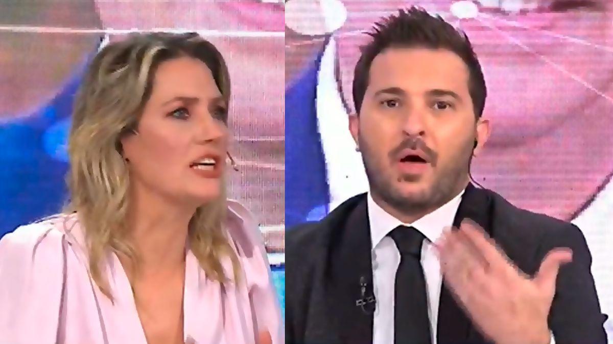 Carolina Losada anunció su precandidatura y Diego Brancatelli la cruzó al aire
