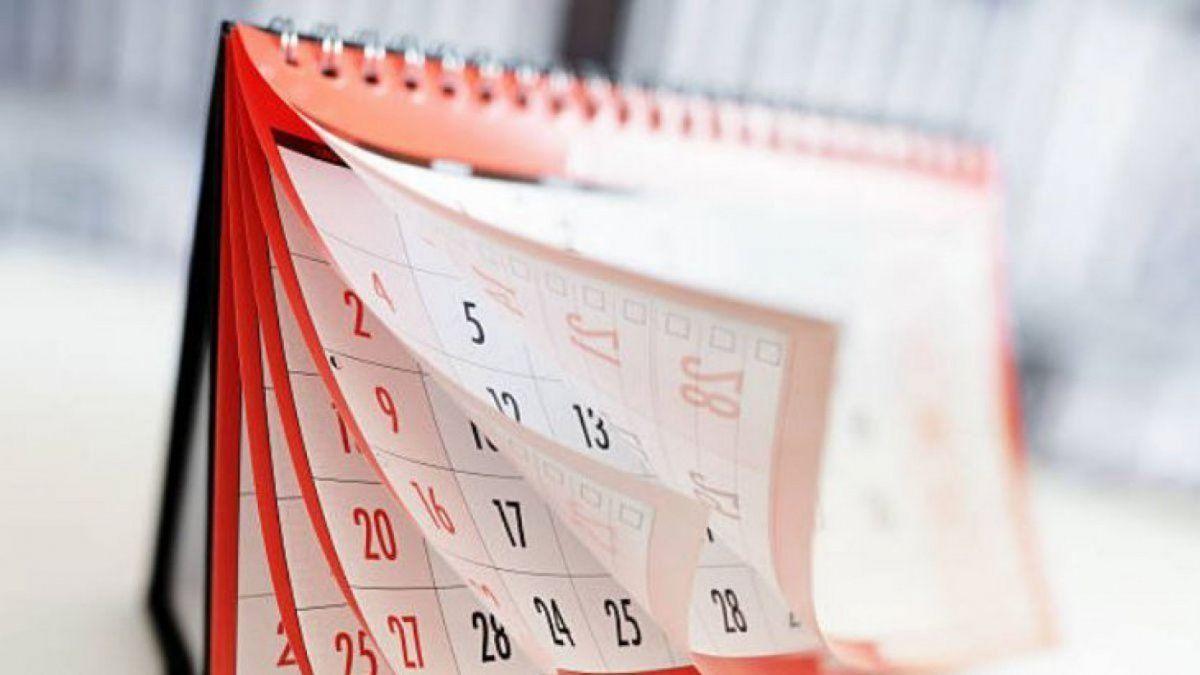 Feriados 2021. El calendario marca que aún quedan cuatro días festivos por celebrar (Foto: archivo).