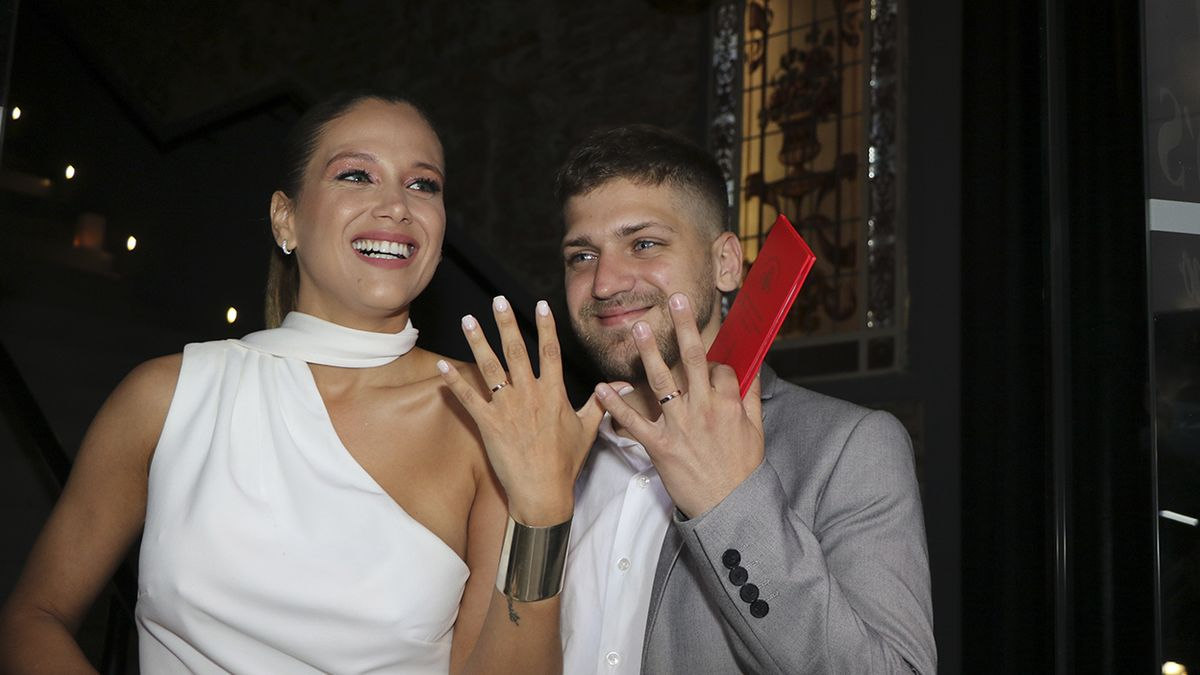 Se casaron Barbie Vélez y Lucas Rodríguez
