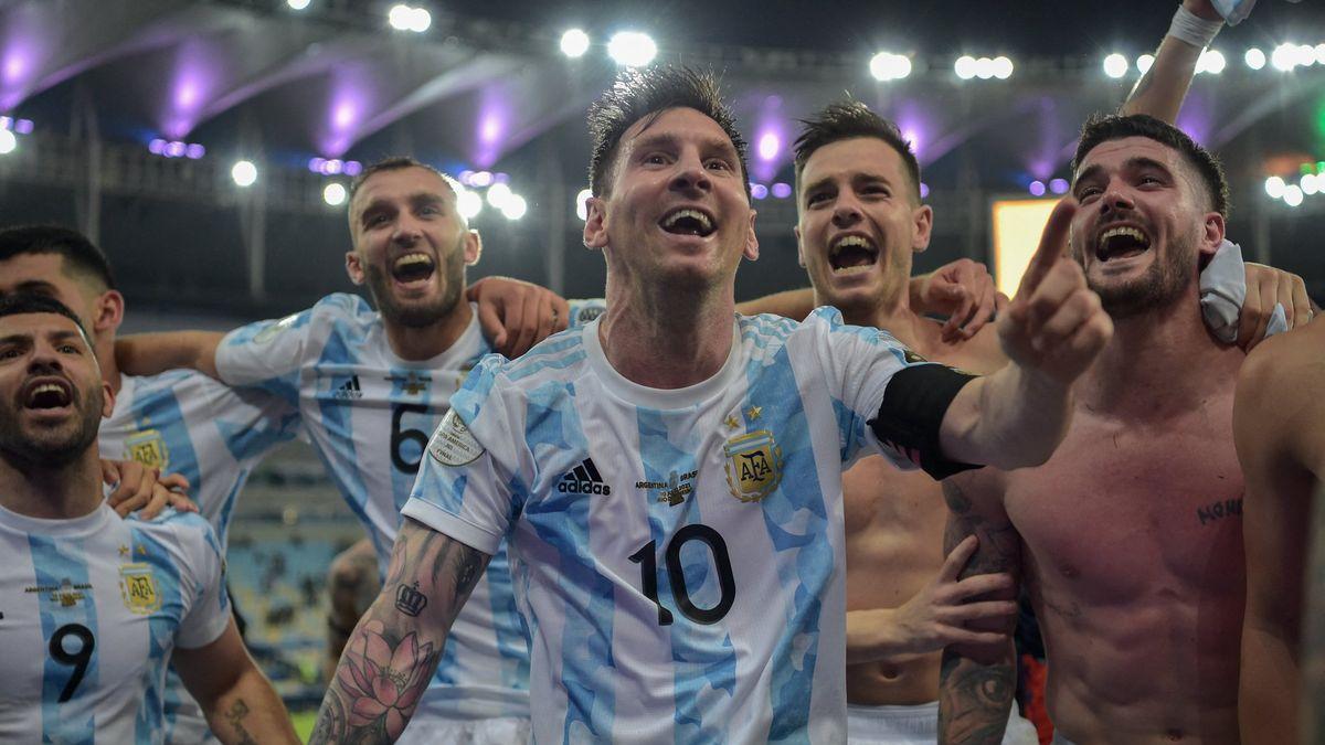 Campeón y líder. Messi y un video viral.