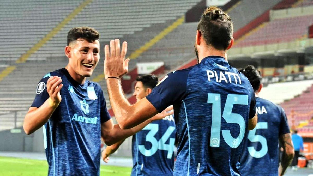 Racing, con suplentes, le gana 1-0 a San Pablo en Brasil con gol de Novillo