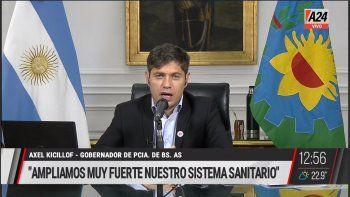 Kicillof contra Rodríguez Larreta por la presencialidad de las clases en la Ciudad: Recurrir a la Justicia, cuando está fuera de jurisdicción, es la peor de las respuestas.