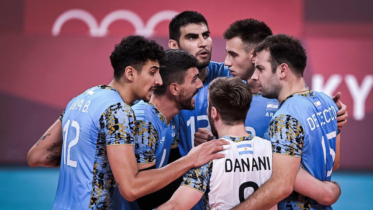 La selección de voleibol logró un triunfazo ante Túnez.