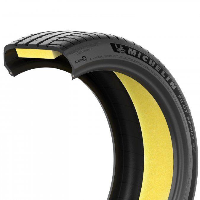 Una de las características especiales del nuevo neumático de Michelin es la reducción en torno a un 20% del nivel de ruido percibido en el interior del vehículo