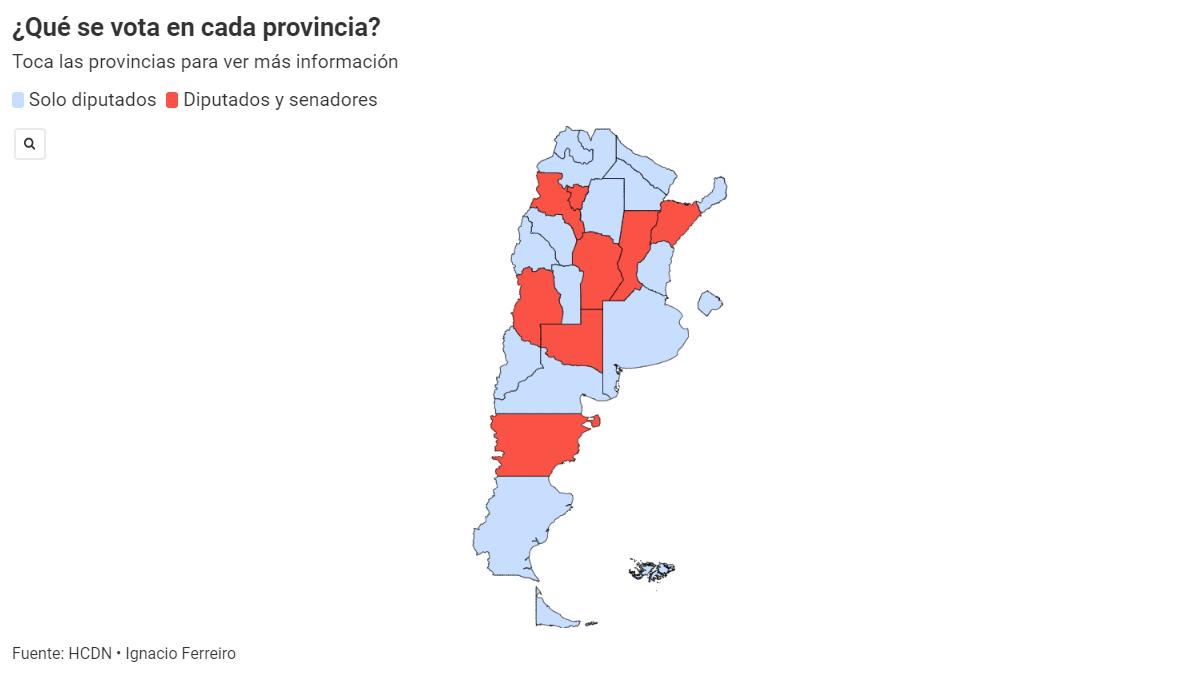Elecciones 2021: qué se vota en cada provincia (Foto: Archivo)