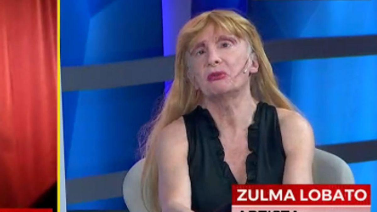El drama de Zulma Lobato: hace un año y medio no tiene trabajo