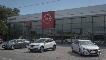 Nissan inauguró el primer concesionario con su nueva imagen