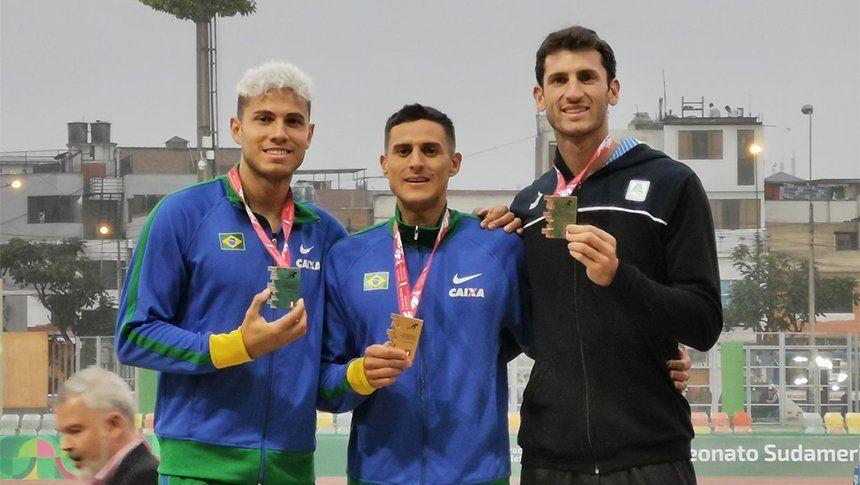 Sudamericano de atletismo: dos platas y tres bronces para Argentina en la primera jornada de competencia