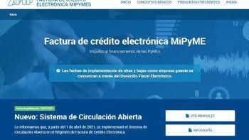 La Factura de Crédito Electrónica tendrá nuevo monto mínimo