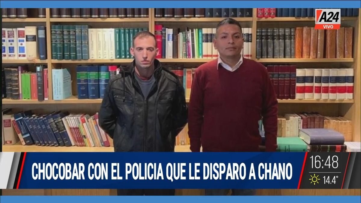 Luis Chocobar se reunió con el policía que le disparó a Chano.