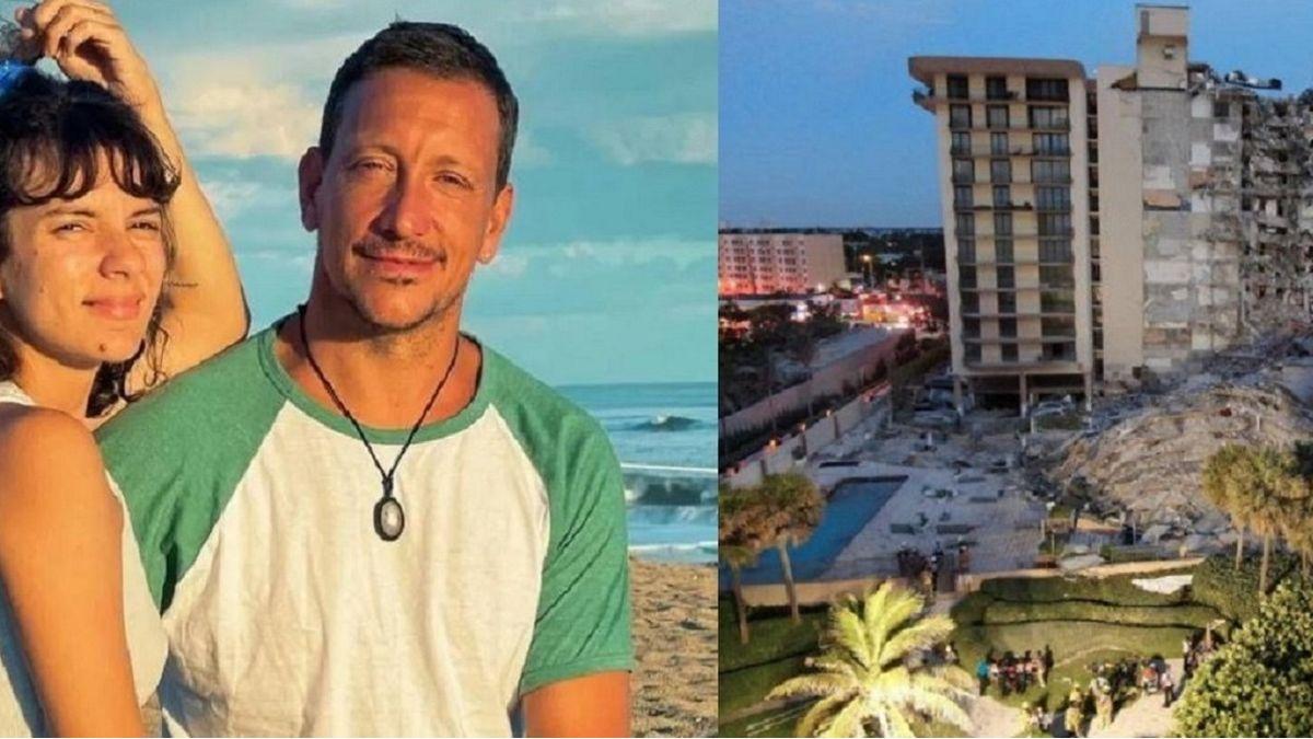 Lo que perdieron Nicolás Vazquez y Gimena Accardi en el derrumbe de Miami