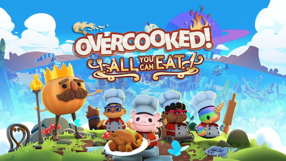 Overcooked! All You Can Eat llega a PlayStation 5 en septiembre.