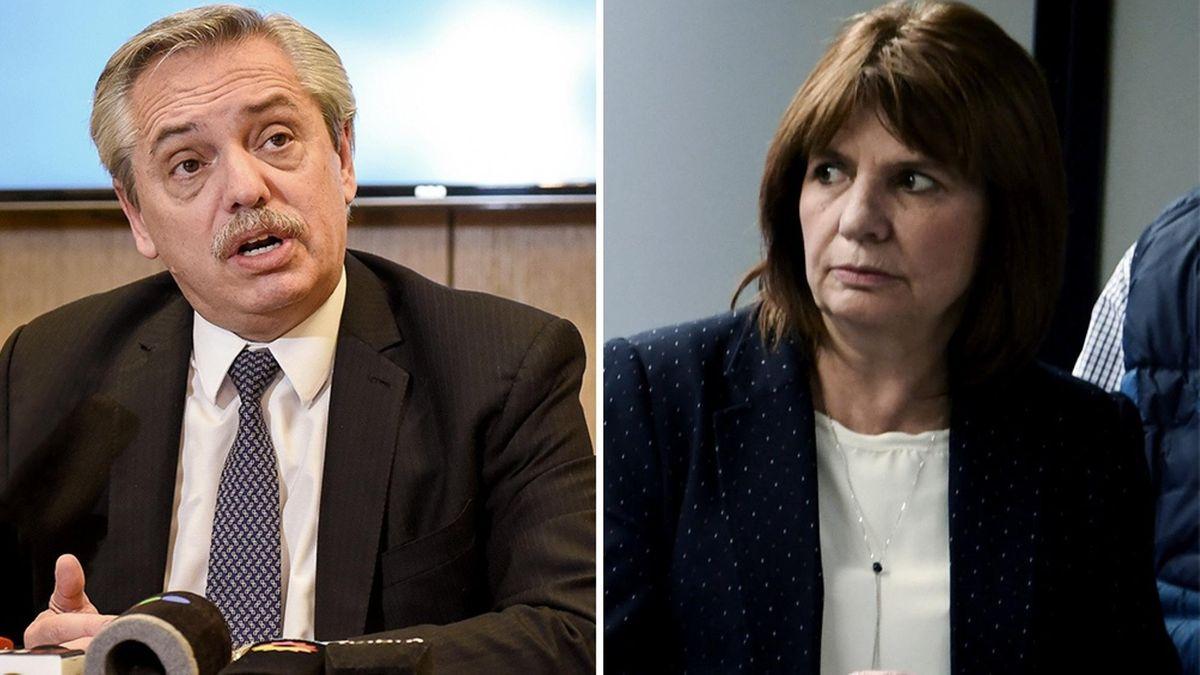 Pfizer: Alberto Fernández y Patricia Bullrich estarán mano a mano en la audiencia de mediación (Foto: Telam).