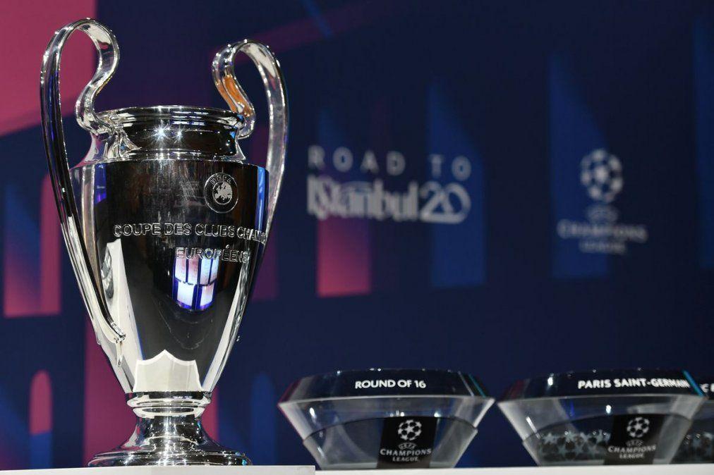 Se sortearon los octavos de la Champions League: mirá todos los cruces