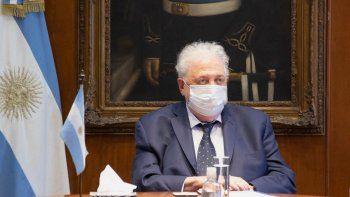 El ex ministro de Salud, Ginés González García. Tuvo que renunciar tras revelarse los casos de personas privilegiadas que pasaron por el supuesto vacunatorio VIP montado en la cartera sanitaria y en el Hospital Posadas.