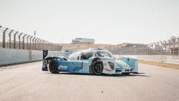 Hyundai y el auto de carreras a hidrógeno