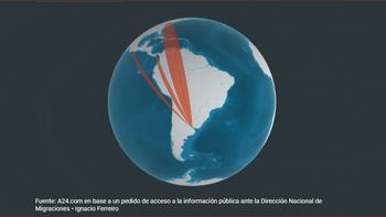 ¿A dónde viajaron los argentinos durante los 10 peores meses de la pandemia?