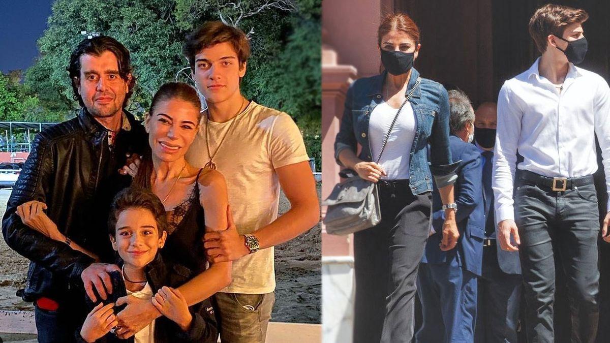 Luca Menem, el hijo de Zulemita, sorprendió con su cuerpo de fisicoculturista a los 17 años