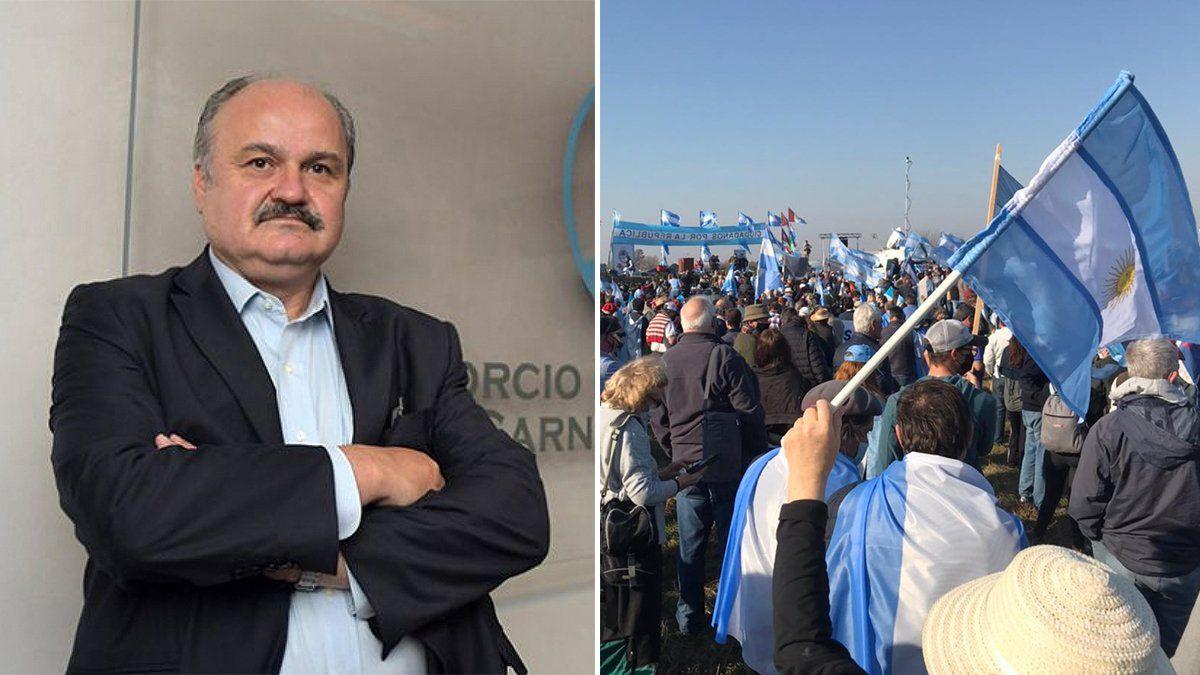 Mario Ravettino defendió al Consorcio ABC de las acusaciones de los autoconvocados.