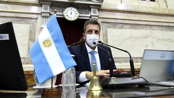 Sergio Massa criticó a la oposición: Por cuestiones electorales están obligados a mordernos la mano
