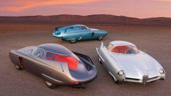 Alfa Romeo BAT, los 3 concept cars de Bertone salen a subasta por más de 12 millones de euros
