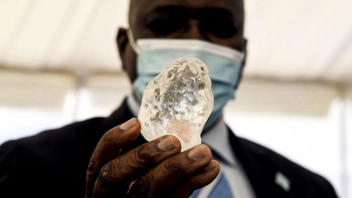 El diamante hallado en Botswana