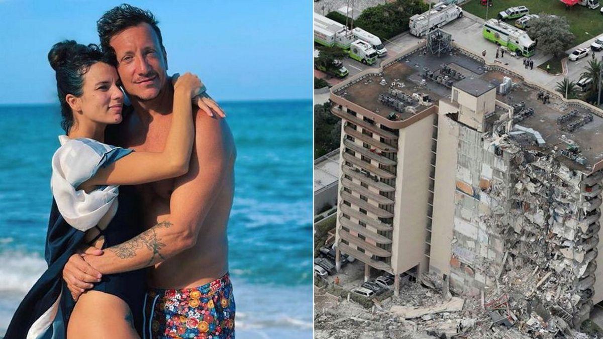 La palabra de Gimena Accardi después del trágico derrumbre en Miami