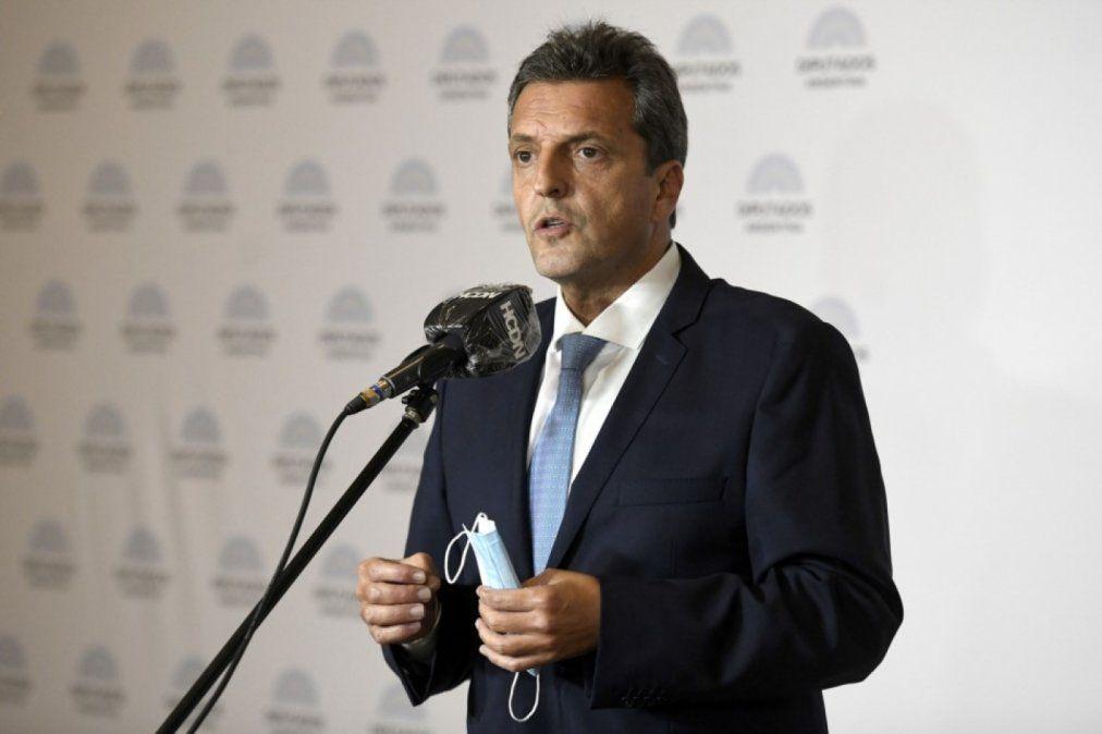 Massa convoca a funcionarios nacionales del FR para definir posición en medio de crisis de gabinete (Foto: Telam).