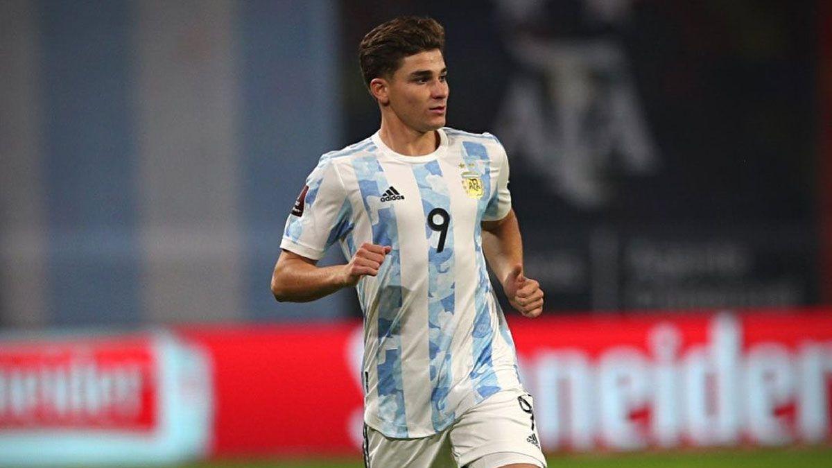 Julian Alvarez se metió en la lista de la Copa América