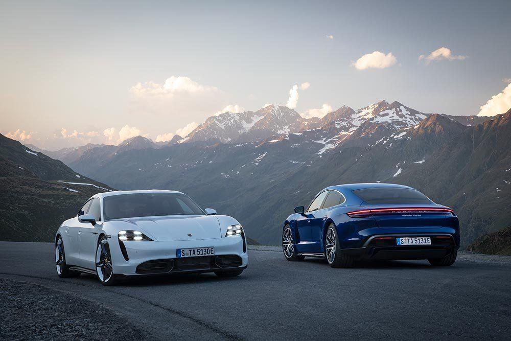Lanzamiento Porsche Taycan