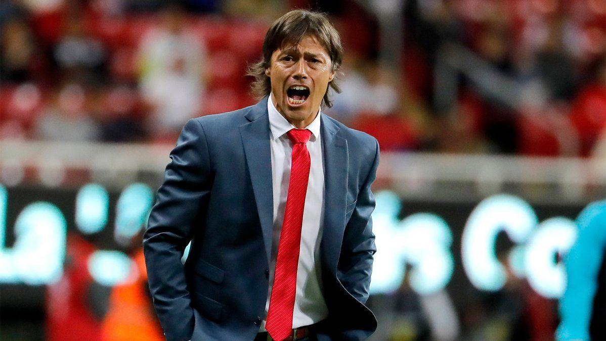 Matías Almeyda, nombrado para ser DT de Argentina, fue tentado por la Selección de Costa Rica
