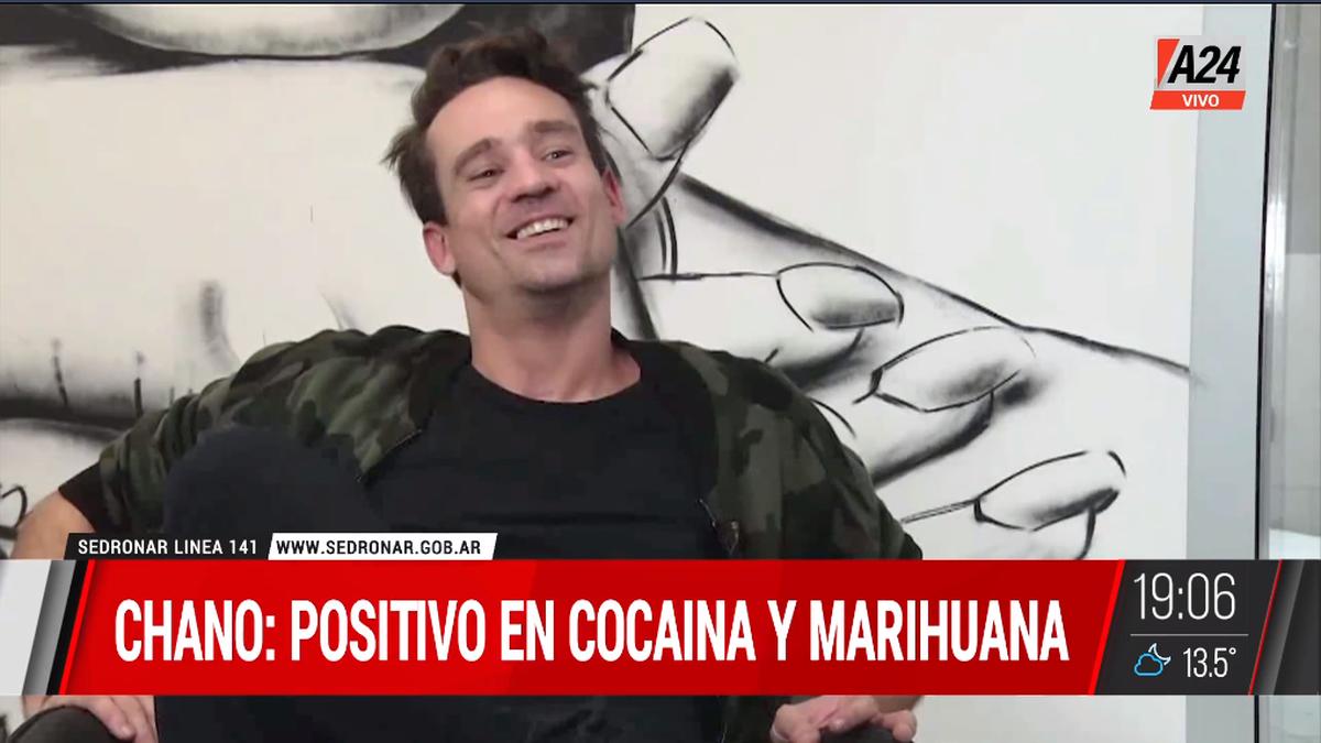 Confirman que Chano dio positivo de cocaína y marihuana (Foto: captura de TV).