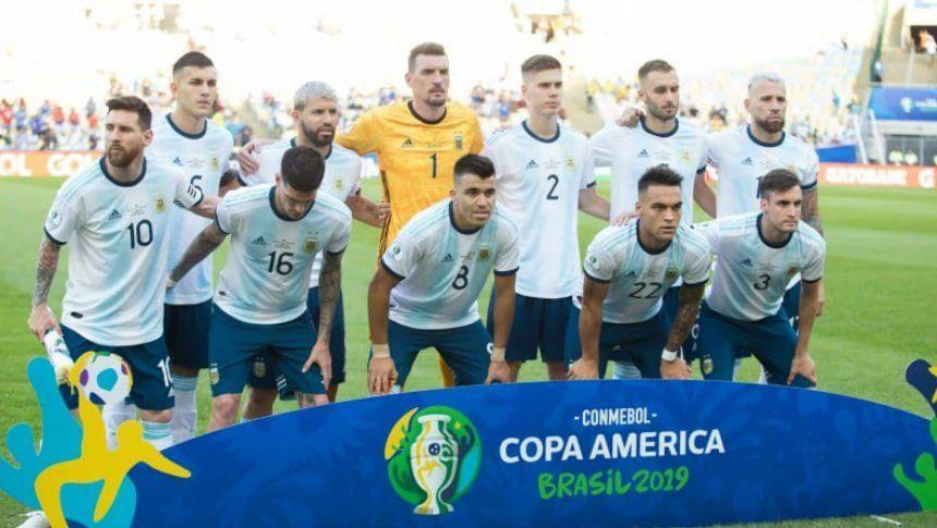 Después de cuarenta partidos Argentina repetirá la misma formación
