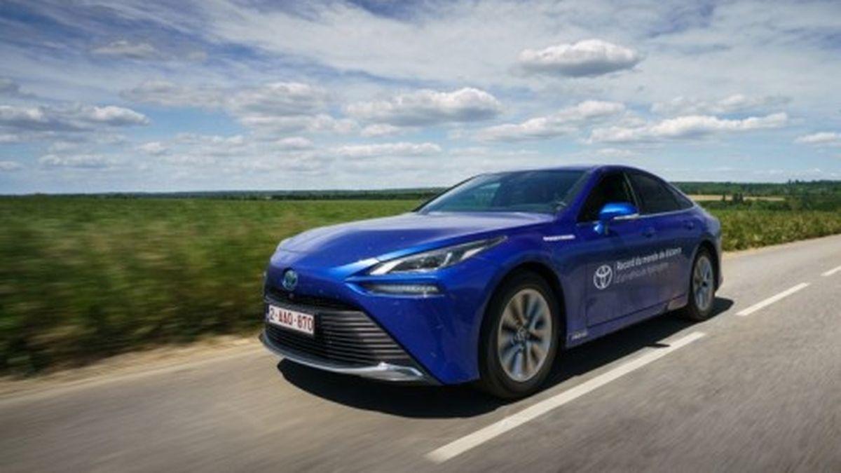 Toyota continúa impulsando nuevas formas de energía. Ahora