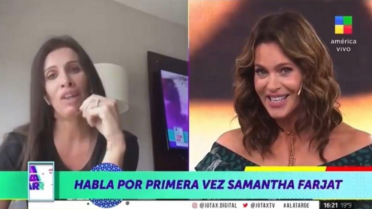 Samanta Farjat rompió el silencio en medio de las denuncias de Mavys Álvarez