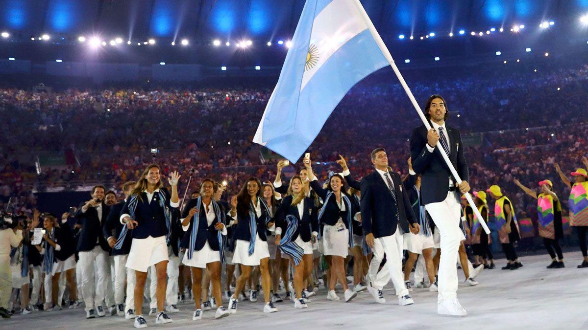 Argentina durante la Ceremonia Inaugural de Río 2016.