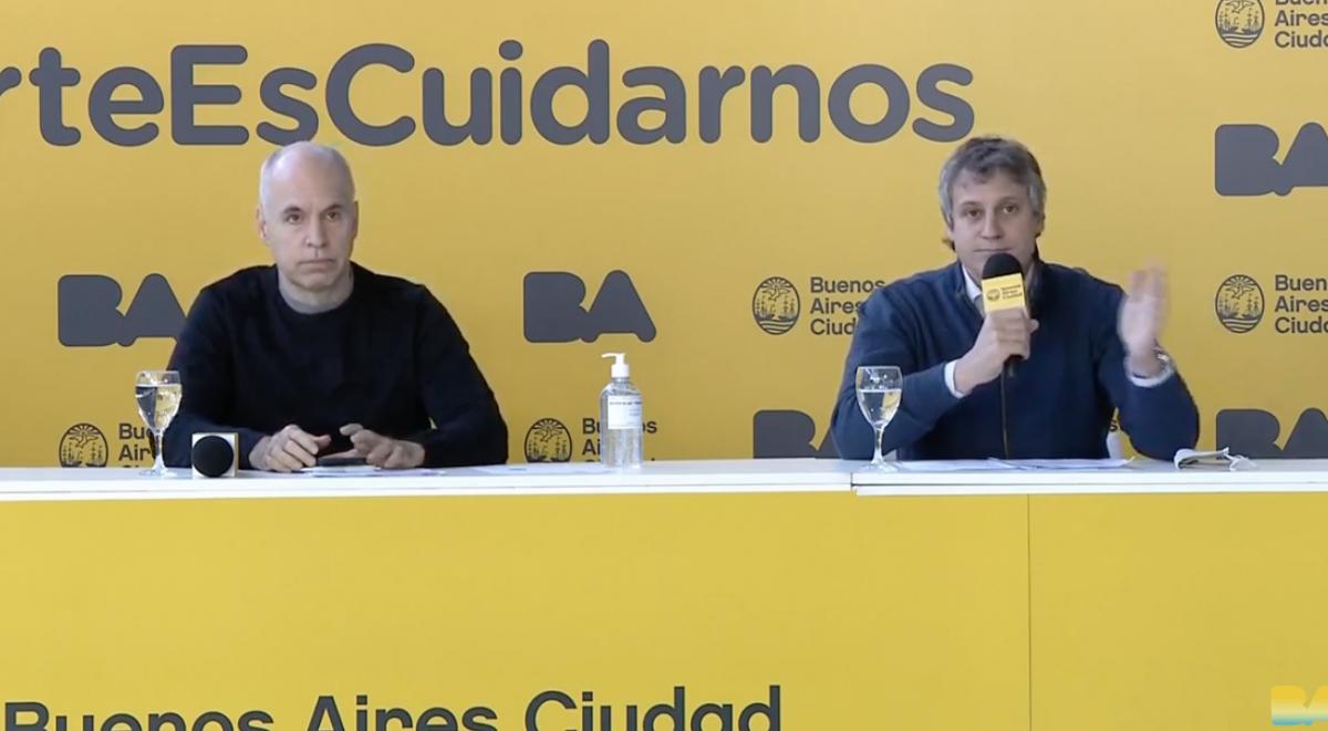 """""""No sabíamos que iba a pasar esto y lo padecieron muchos ciudadanos"""", se quejó el jefe de Gabinete de la Ciudad de Buenos Aires, Felipe Miguel."""