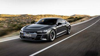 Un Audi como el mundo no había visto antes: el modelo eléctrico e-tron GT