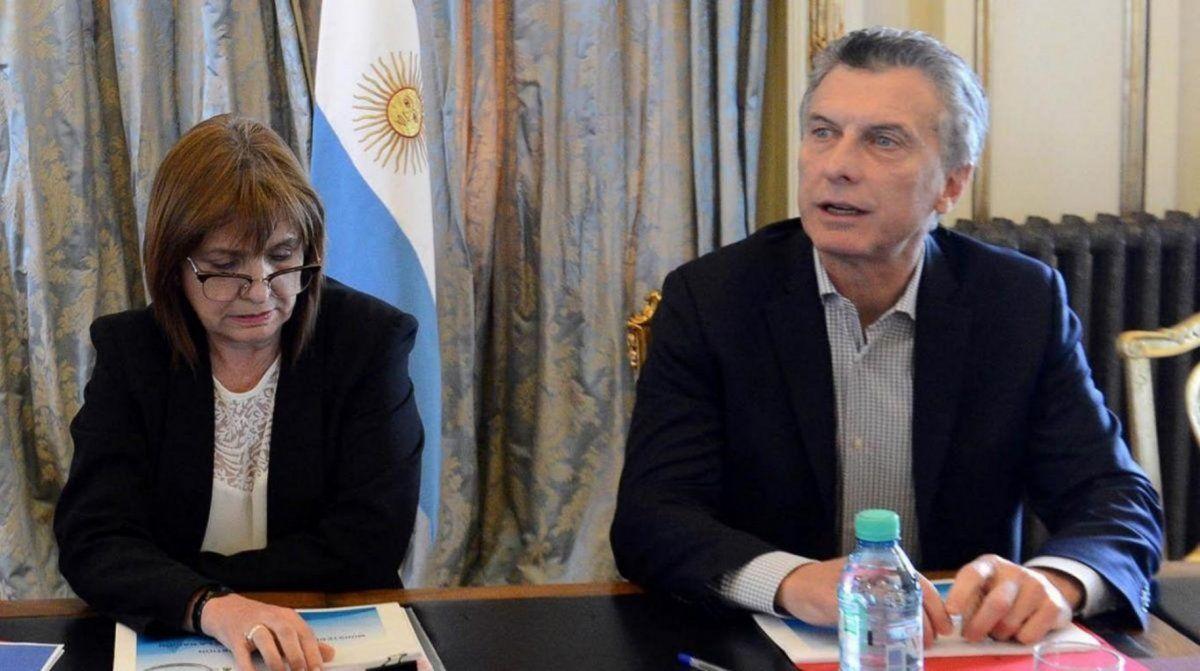 Bullrich y Macri