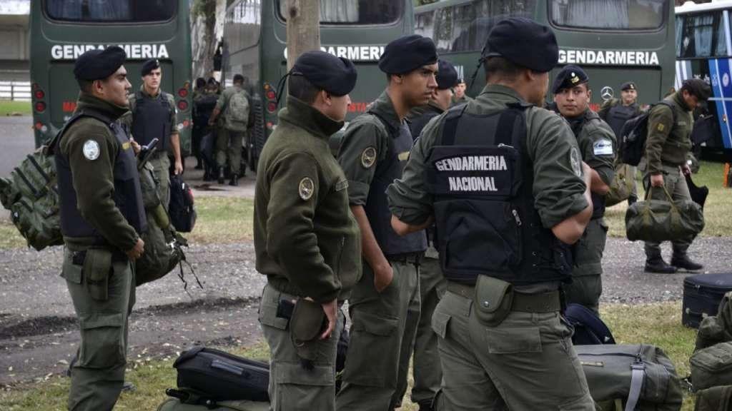 Gendarmería nacional.